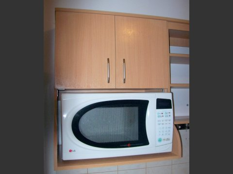 Muebles de cocina anaqueles ahora Muebles de cocina para microondas